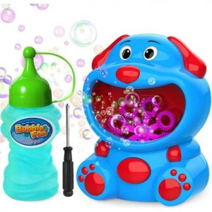 Puppy Bubble Maker Toy