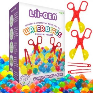 waterbeads set with tools