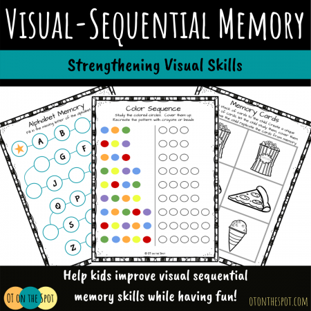 Visual Sequential Memory activity packet